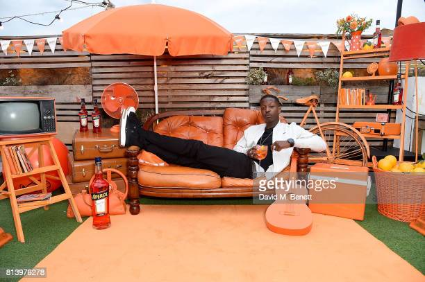 Director Jamal Edwards attends the Aperol Spritz Social >> on July 13 2017 in London England