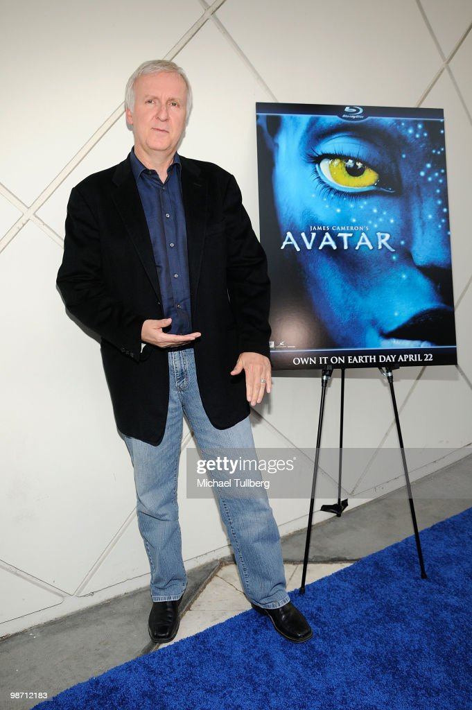 Director <a gi-track='captionPersonalityLinkClicked' href=/galleries/search?phrase=James+Cameron&family=editorial&specificpeople=206399 ng-click='$event.stopPropagation()'>James Cameron</a> arrives at 'Is Pandora Possible?', a scientific discussion panel regarding the science and technology behind the film 'Avatar', held at the California Institute of Technology on April 27, 2010 in Pasadena, California.