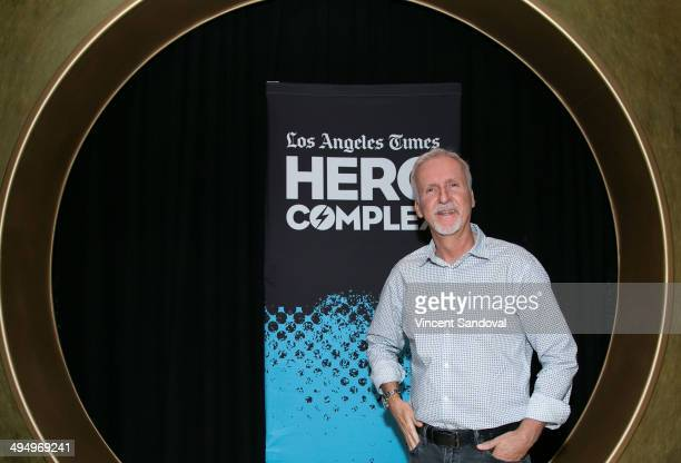 Director James Cameron attends LA Times Hero Complex Film Festival 'Terminator And Terminator 2' screening at TCL Chinese 6 Theatres on May 31 2014...