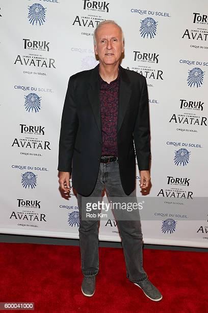 Director James Cameron attends the New York Premiere of Cirque Du Soleil's 'Toruk' at Barclays Center on September 7 2016 in New York City