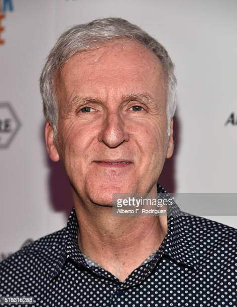 Director James Cameron attends the premiere of 'The Dark Horse' hosted by James Cameron at Ace Theater Downtown LA on March 30 2016 in Los Angeles...