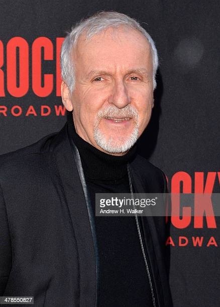 Director James Cameron attends the 'Rocky' Broadway opening night at the Winter Garden Theatre on March 13 2014 in New York City
