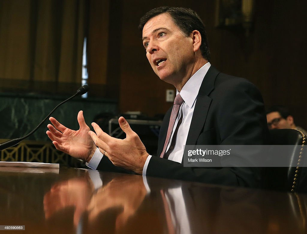 FBI Director James Comey Testifies Before Senate Judiciary Committee On Oversight Of The FBI