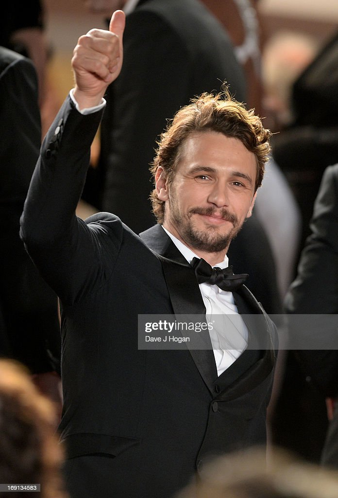 Director <a gi-track='captionPersonalityLinkClicked' href=/galleries/search?phrase=James+Franco&family=editorial&specificpeople=577480 ng-click='$event.stopPropagation()'>James Franco</a> attends the 'As I Lay Dying' Premiere during the 66th Annual Camnes Film Festival at the Palais des Festivals on May 20, 2013 in Cannes, France.