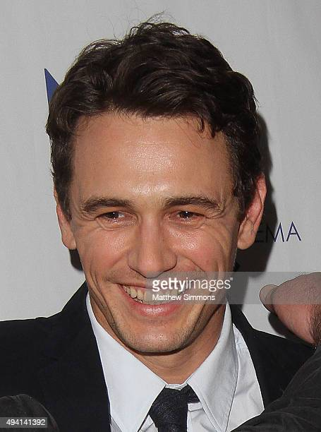 Director James Franco attends the premiere of 'The Sound And The Fury' at Beverly Hills Fine Arts Theater on October 24 2015 in Beverly Hills...