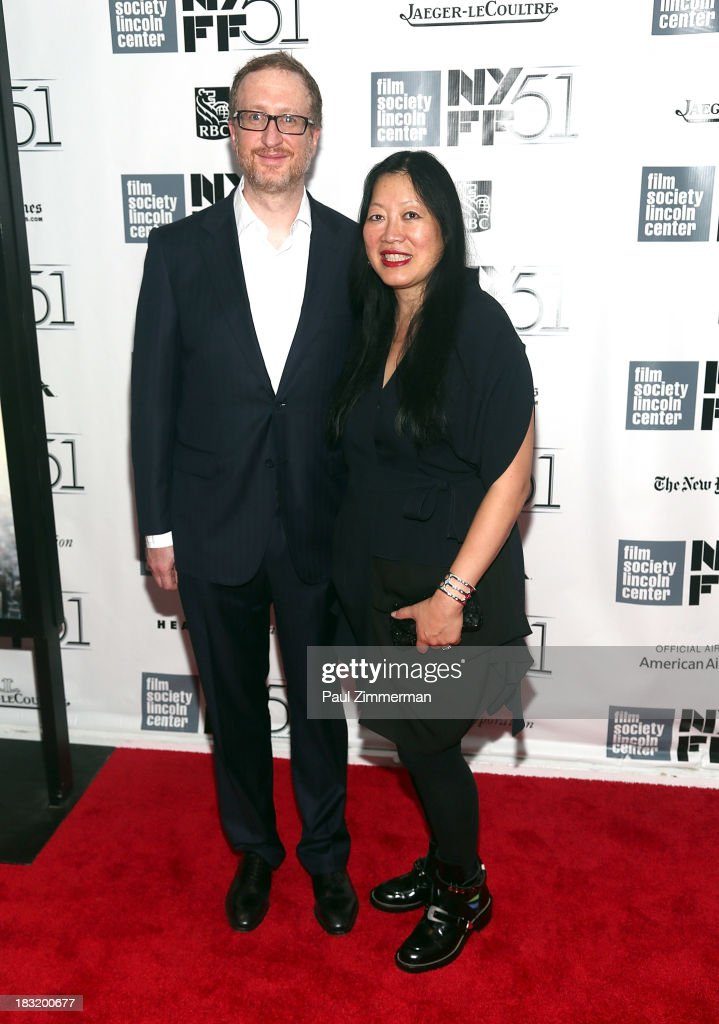 Director <a gi-track='captionPersonalityLinkClicked' href=/galleries/search?phrase=James+Gray&family=editorial&specificpeople=2479723 ng-click='$event.stopPropagation()'>James Gray</a> (L) and Rose Kuo attend the Centerpiece Gala Presentation Of 'The Secret Life Of Walter Mitty' premiere during the 51st New York Film Festival at Alice Tully Hall at Lincoln Center on October 5, 2013 in New York City.