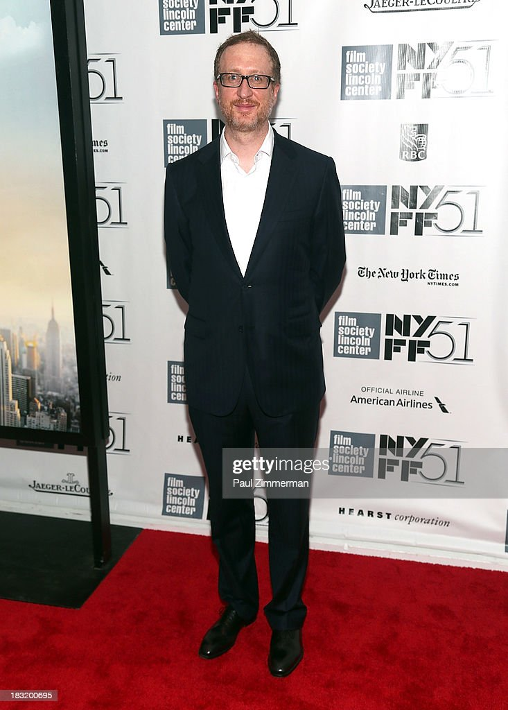 Director <a gi-track='captionPersonalityLinkClicked' href=/galleries/search?phrase=James+Gray&family=editorial&specificpeople=2479723 ng-click='$event.stopPropagation()'>James Gray</a> attends the Centerpiece Gala Presentation Of 'The Secret Life Of Walter Mitty' premiere during the 51st New York Film Festival at Alice Tully Hall at Lincoln Center on October 5, 2013 in New York City.