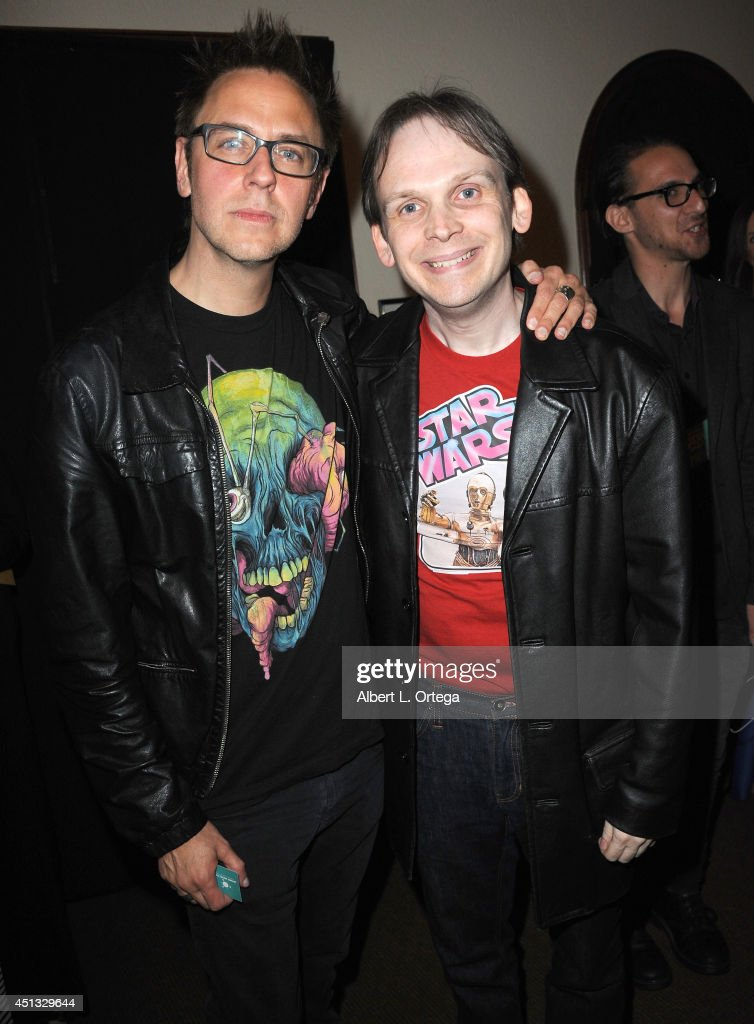 Director <a gi-track='captionPersonalityLinkClicked' href=/galleries/search?phrase=James+Gunn&family=editorial&specificpeople=669760 ng-click='$event.stopPropagation()'>James Gunn</a> and Huston Huddleston attend the After Party for the 40th Annual Saturn Awards held at on June 26, 2014 in Burbank, California.