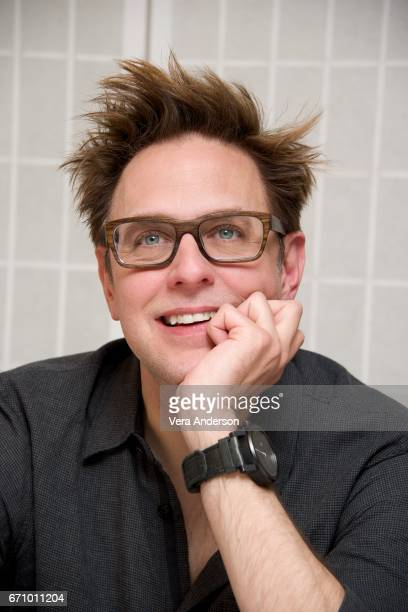Director James Gunn at the 'Guardians of the Galaxy Vol 2' Press Conference at the London Hotel on April 20 2017 in West Hollywood California