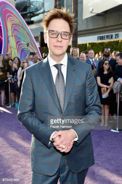 Director James Gunn at the premiere of Disney and Marvel's 'Guardians Of The Galaxy Vol 2' at Dolby Theatre on April 19 2017 in Hollywood California