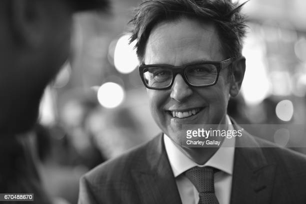 "Director James Gunn at The World Premiere of Marvel Studios' ""Guardians of the Galaxy Vol 2"" at Dolby Theatre in Hollywood CA April 19th 2017"