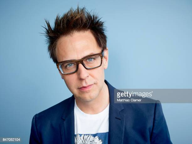 Director James Gunn from 'Guardians of the Galaxy Vol 2' is photographed for Entertainment Weekly Magazine on July 23 2016 at Comic Con in the Hard...