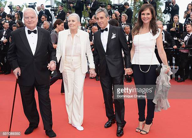 Director James Ivory actress Vanessa Redgrave distributor Charles S Cohen and Clo Cohen attend the 'Money Monster' premiere during the 69th annual...