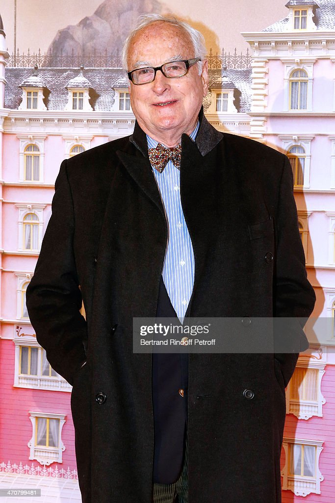 Director James Ivory attends 'The Grand Budapest Hotel' Paris Premiere at Cinema Gaumont Opera Capucines on February 20, 2014 in Paris, France.