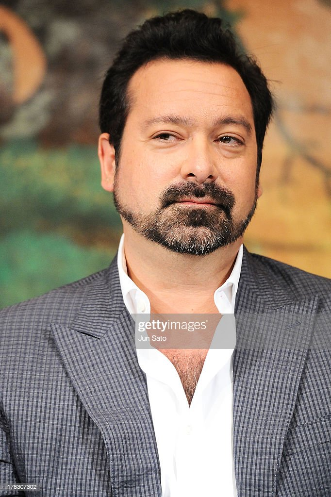 Director <a gi-track='captionPersonalityLinkClicked' href=/galleries/search?phrase=James+Mangold&family=editorial&specificpeople=619613 ng-click='$event.stopPropagation()'>James Mangold</a> attends 'The Wolverine' press conference at the Meguro Gajyoen on August 29, 2013 in Tokyo, Japan.