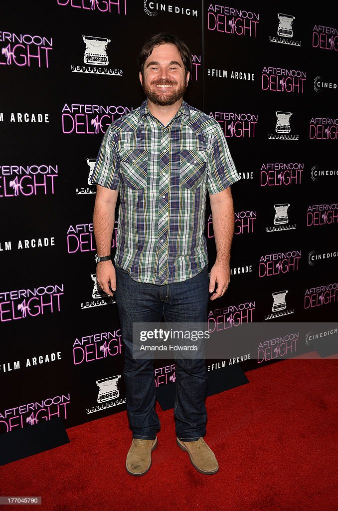 Director James Ponsoldt arrives at the Los Angeles premiere of 'Afternoon Delight' at ArcLight Hollywood on August 19 2013 in Hollywood California