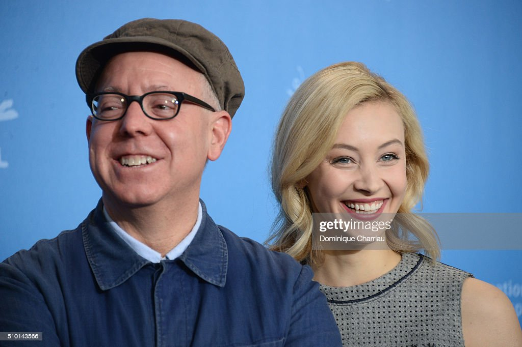 Director <a gi-track='captionPersonalityLinkClicked' href=/galleries/search?phrase=James+Schamus&family=editorial&specificpeople=628217 ng-click='$event.stopPropagation()'>James Schamus</a> and actress <a gi-track='captionPersonalityLinkClicked' href=/galleries/search?phrase=Sarah+Gadon&family=editorial&specificpeople=6606524 ng-click='$event.stopPropagation()'>Sarah Gadon</a> attend the 'Indignation' photo call during the 66th Berlinale International Film Festival Berlin at Grand Hyatt Hotel on February 14, 2016 in Berlin, Germany.
