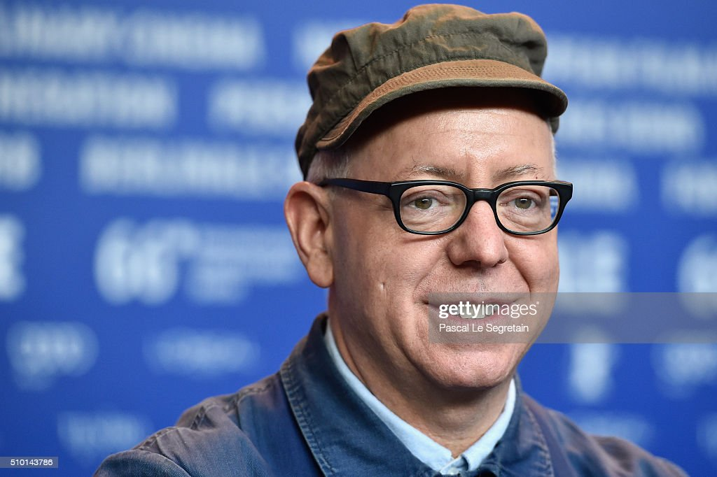 Director <a gi-track='captionPersonalityLinkClicked' href=/galleries/search?phrase=James+Schamus&family=editorial&specificpeople=628217 ng-click='$event.stopPropagation()'>James Schamus</a> attends the 'Indignation' press conference during the 66th Berlinale International Film Festival Berlin at Grand Hyatt Hotel on February 14, 2016 in Berlin, Germany.