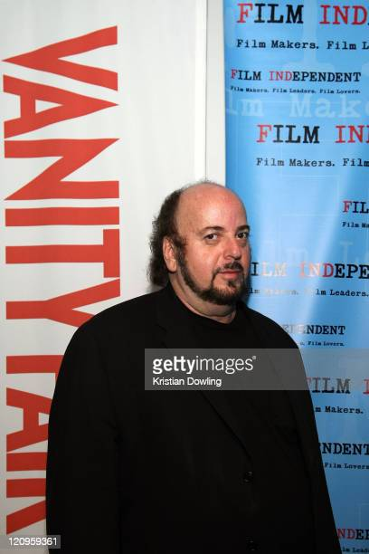 Director James Toback attends Film Independent's preview screening of 'Tyson' at The Landmark Theatre on April 15 2009 in Los Angeles California