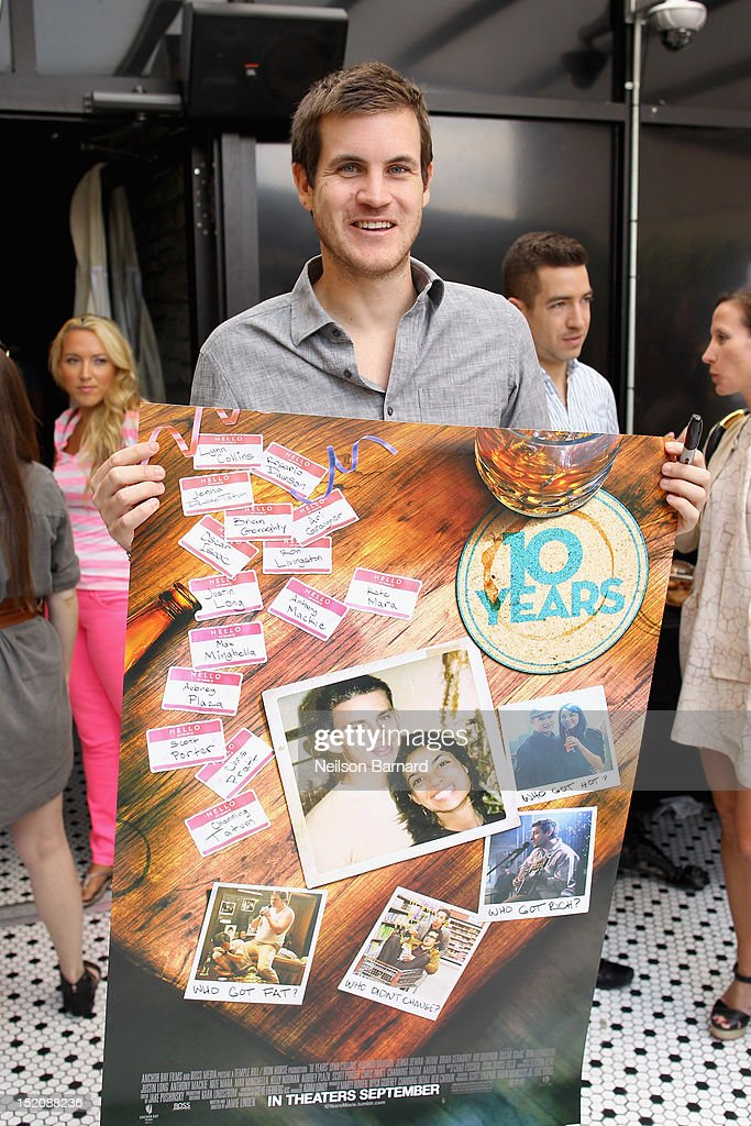 Director Jamie Linden attends '10 Years' brunch reunion event hosted by GREY GOOSE Vodka And Anchor Bay Films at Hotel Chantelle on September 16, 2012 in New York City.