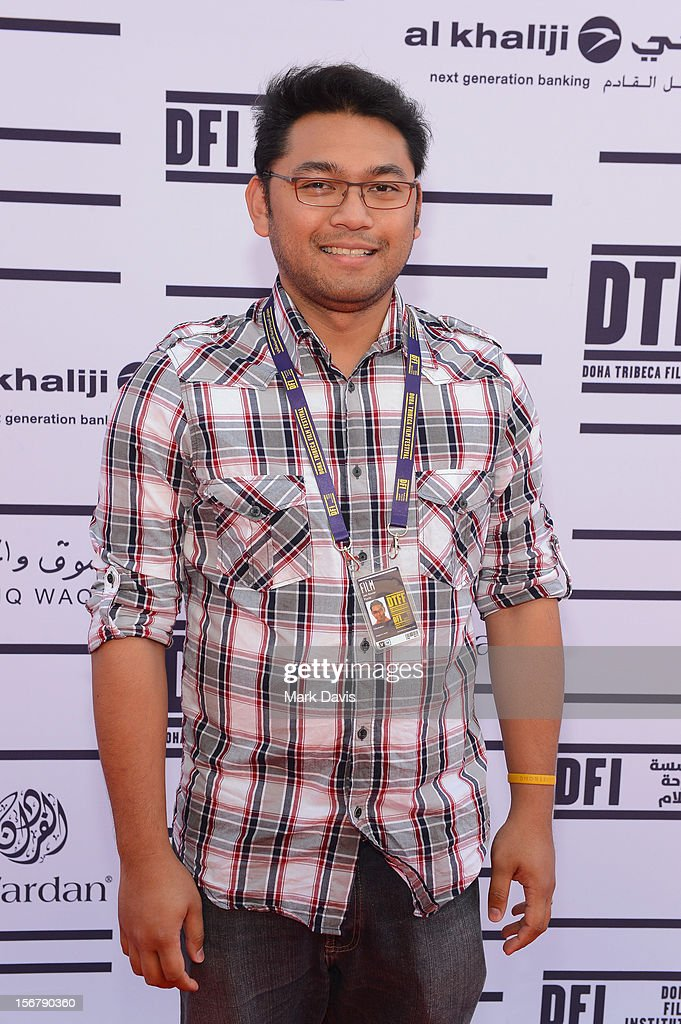 Director Jan Xavier Pacle attends the Made In Qatar Press Conference at the Al Mirqab Hotel during the 2012 Doha Tribeca Film Festival on November 21, 2012 in Doha, Qatar.