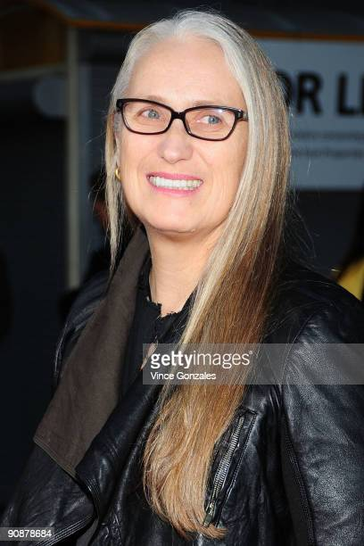 Director Jane Campion arrives at the premiere of 'Bright Star' at ArcLight Hollywood on September 16 2009 in Hollywood California