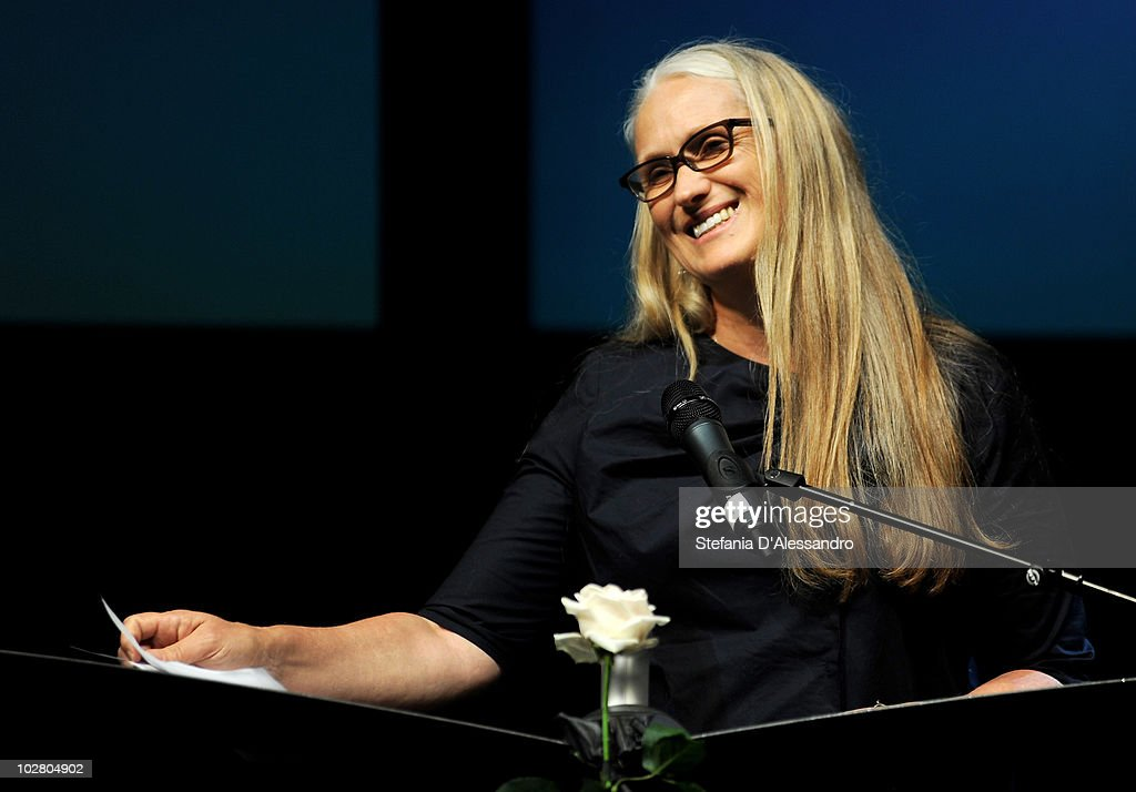 Director Jane Campion attends La Milanesiana held at Teatro Dal Verme on July 10, 2010 in Milan, Italy.
