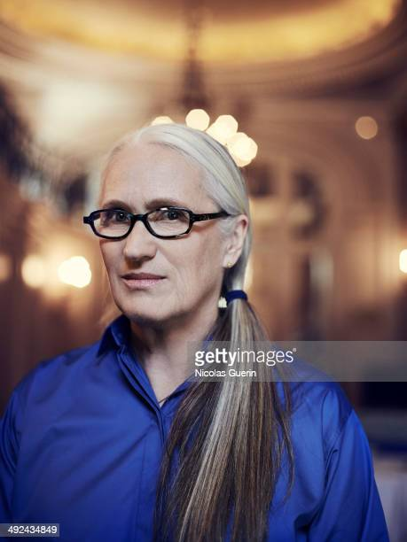 Director Jane Campion is photographed for Self Assignment on May 18 2014 in Cannes France