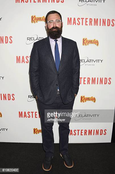 Director Jared Hess attends the premiere of Relativity Media's 'Masterminds' held at TCL Chinese Theatre on September 26 2016 in Hollywood California