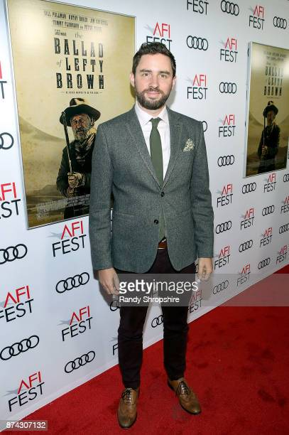 Director Jared Moshe attends AFI Fest/Los Angeles premiere of 'The Ballad of Lefty Brown' on November 14 2017 in Los Angeles California