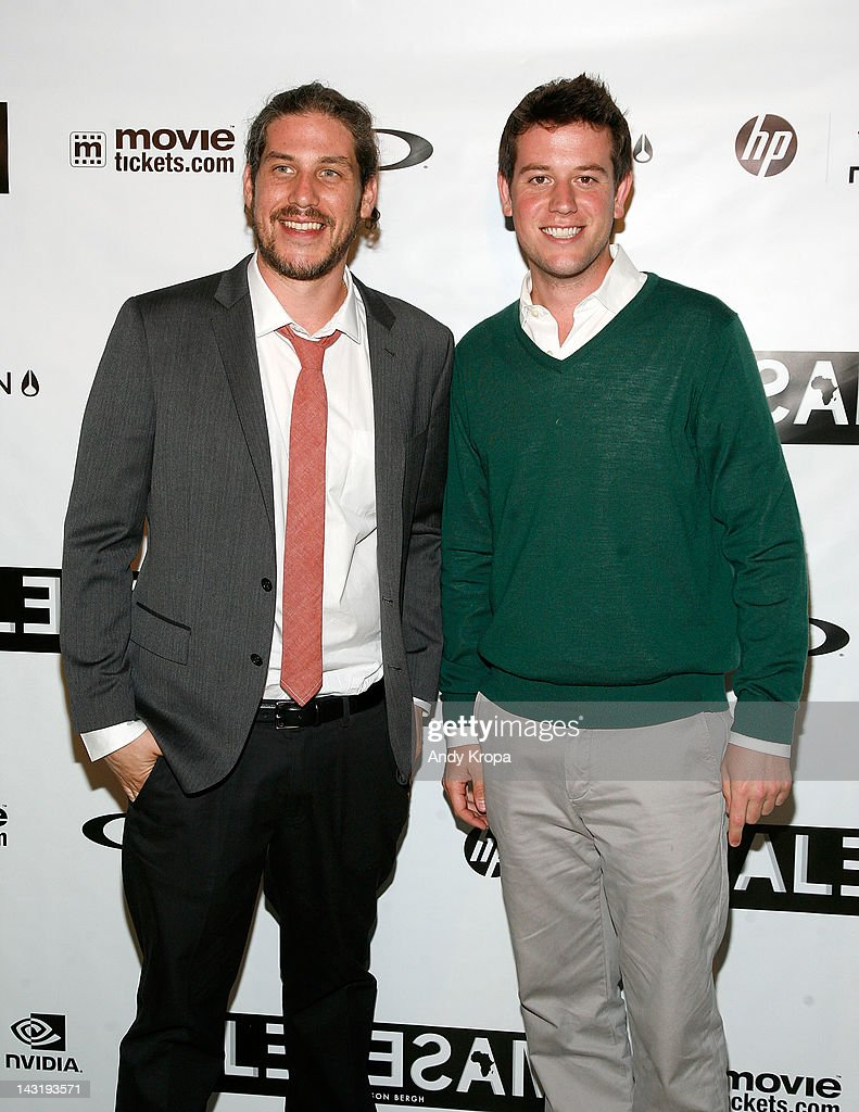 Director Jason Bergh and Ben Lyons attend the 'Alekesam' premiere at the Tribeca Grand Hotel on April 20, 2012 in New York City.