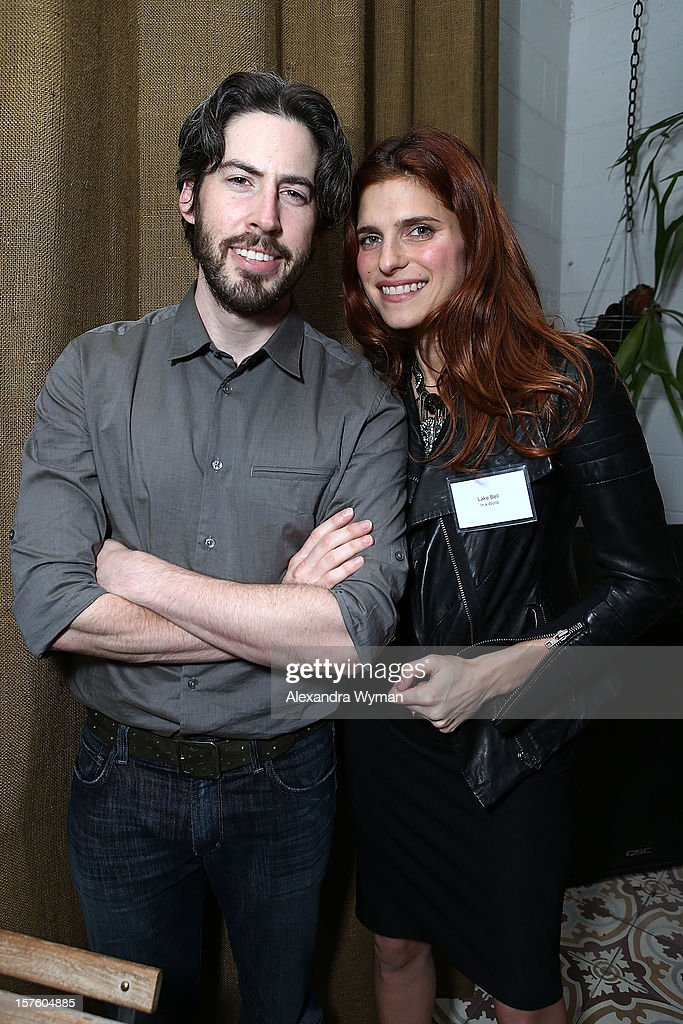 Director <a gi-track='captionPersonalityLinkClicked' href=/galleries/search?phrase=Jason+Reitman&family=editorial&specificpeople=627880 ng-click='$event.stopPropagation()'>Jason Reitman</a> and <a gi-track='captionPersonalityLinkClicked' href=/galleries/search?phrase=Lake+Bell&family=editorial&specificpeople=209336 ng-click='$event.stopPropagation()'>Lake Bell</a> at The Sundance Film Festival Filmmaker Orientation reception held at The Palihouse Holloway on December 4, 2012 in West Hollywood, California.