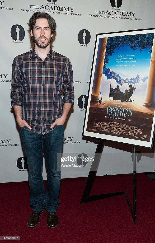 Director <a gi-track='captionPersonalityLinkClicked' href=/galleries/search?phrase=Jason+Reitman&family=editorial&specificpeople=627880 ng-click='$event.stopPropagation()'>Jason Reitman</a> attends the Academy Of Motion Picture Arts And Sciences' Presents 'The Princess Bride' With Live Commentary Onstage at AMPAS Samuel Goldwyn Theater on August 15, 2013 in Beverly Hills, California.