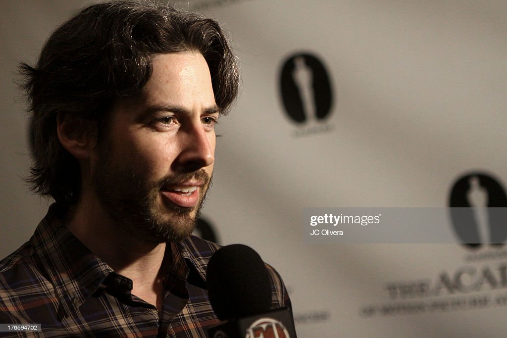 Director <a gi-track='captionPersonalityLinkClicked' href=/galleries/search?phrase=Jason+Reitman&family=editorial&specificpeople=627880 ng-click='$event.stopPropagation()'>Jason Reitman</a> attends 'The Princess Bride' Live Commentary hosted by <a gi-track='captionPersonalityLinkClicked' href=/galleries/search?phrase=Jason+Reitman&family=editorial&specificpeople=627880 ng-click='$event.stopPropagation()'>Jason Reitman</a> at The Academy at AMPAS Samuel Goldwyn Theater on August 15, 2013 in Beverly Hills, California.