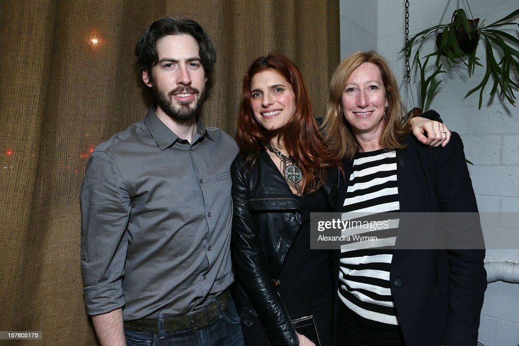 Director <a gi-track='captionPersonalityLinkClicked' href=/galleries/search?phrase=Jason+Reitman&family=editorial&specificpeople=627880 ng-click='$event.stopPropagation()'>Jason Reitman</a>, <a gi-track='captionPersonalityLinkClicked' href=/galleries/search?phrase=Lake+Bell&family=editorial&specificpeople=209336 ng-click='$event.stopPropagation()'>Lake Bell</a> and Executive Director of The Sundance Institute <a gi-track='captionPersonalityLinkClicked' href=/galleries/search?phrase=Keri+Putnam&family=editorial&specificpeople=226879 ng-click='$event.stopPropagation()'>Keri Putnam</a> at The Sundance Film Festival Filmmaker Orientation reception held at The Palihouse Holloway on December 4, 2012 in West Hollywood, California.
