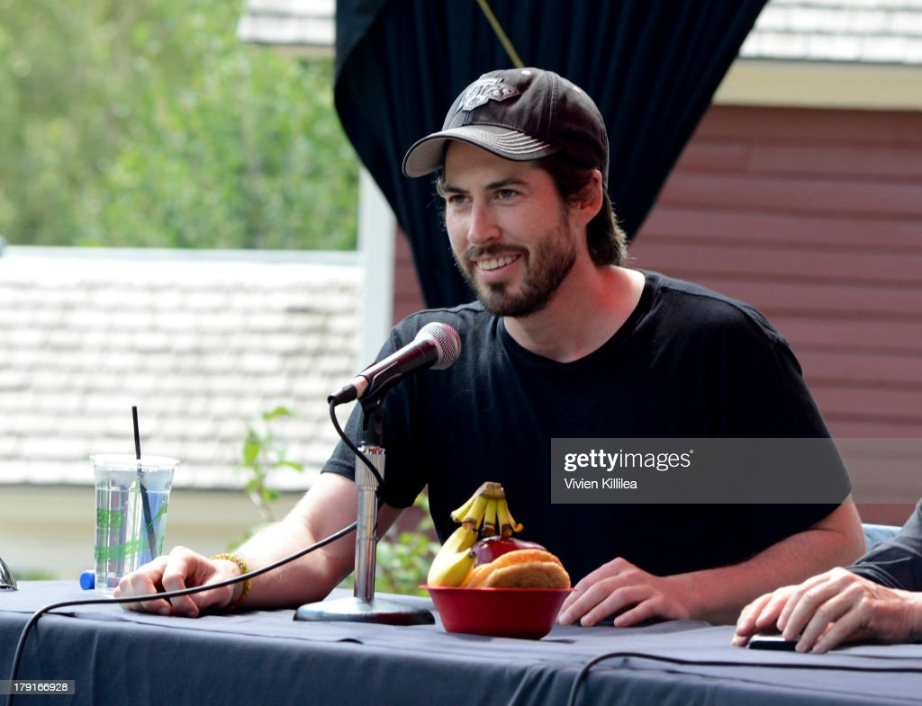 Director <a gi-track='captionPersonalityLinkClicked' href=/galleries/search?phrase=Jason+Reitman&family=editorial&specificpeople=627880 ng-click='$event.stopPropagation()'>Jason Reitman</a> speaks on a panel at Elks Park at the 2013 Telluride Film Festival - Day 3 on August 31, 2013 in Telluride, Colorado.
