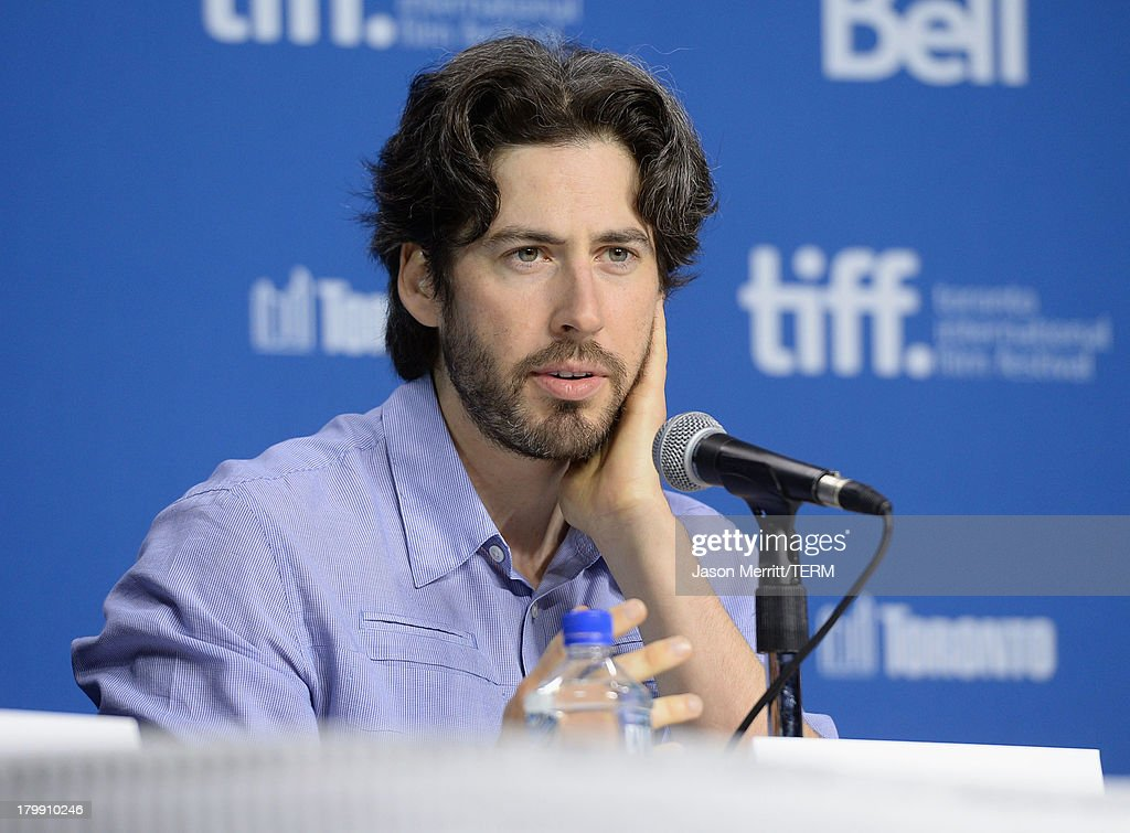 Director <a gi-track='captionPersonalityLinkClicked' href=/galleries/search?phrase=Jason+Reitman&family=editorial&specificpeople=627880 ng-click='$event.stopPropagation()'>Jason Reitman</a> speaks onstage at 'Labor Day' Press Conference during the 2013 Toronto International Film Festival at TIFF Bell Lightbox on September 7, 2013 in Toronto, Canada.