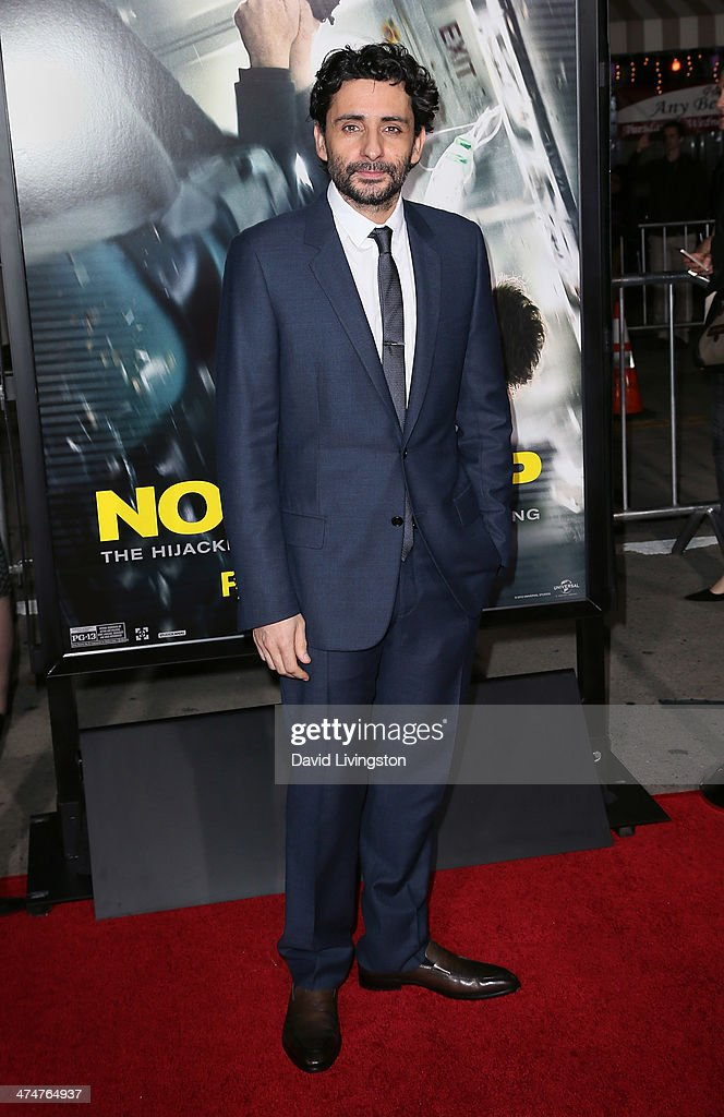 Director Jaume Collet-Serra attends the premiere of Universal Pictures and Studiocanal's 'Non-Stop' at the Regency Village Theatre on February 24, 2014 in Westwood, California.