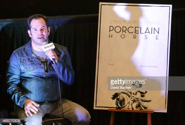 Director Javier Andrade attends TheWrap's Awards Foreign Screening Series 'The Porcelain Horse' at the Landmark Theater on December 11 2013 in Los...