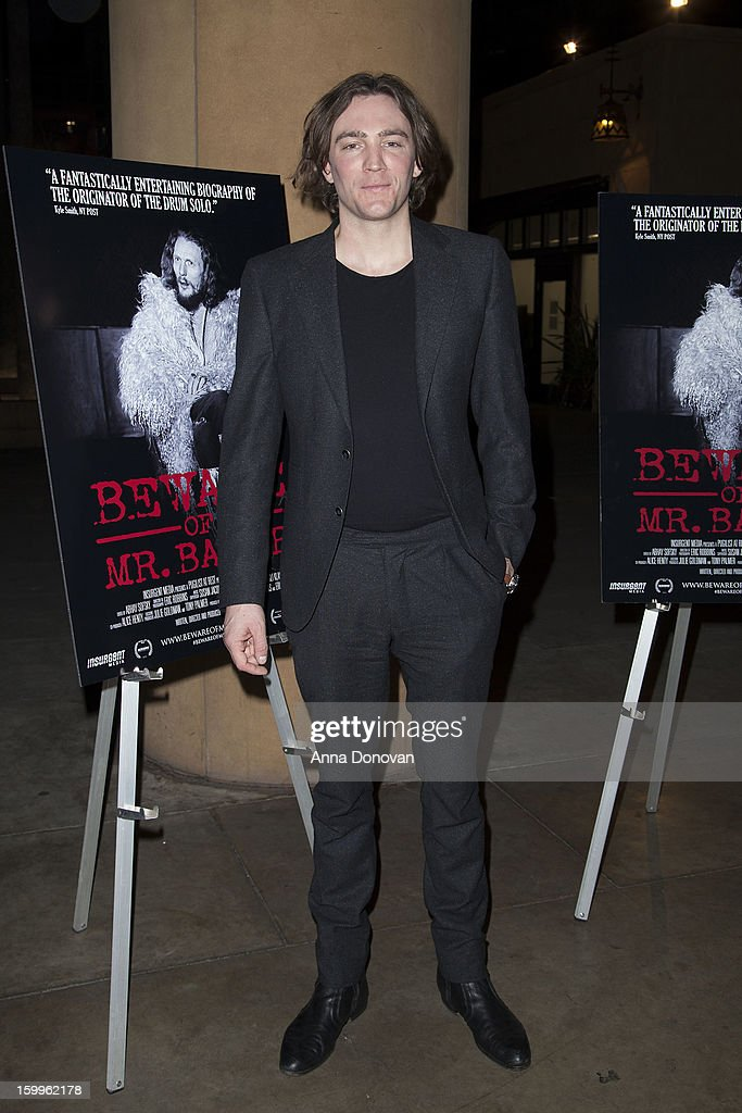 Director Jay Bulger attends a special screening of 'Beware Of Mr Baker' at the Egyptian Theatre on January 23 2013 in Hollywood California