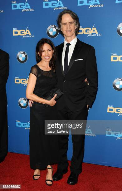 Director Jay Roach and wife Susanna Hoffs attends the 69th annual Directors Guild of America Awards at The Beverly Hilton Hotel on February 4 2017 in...