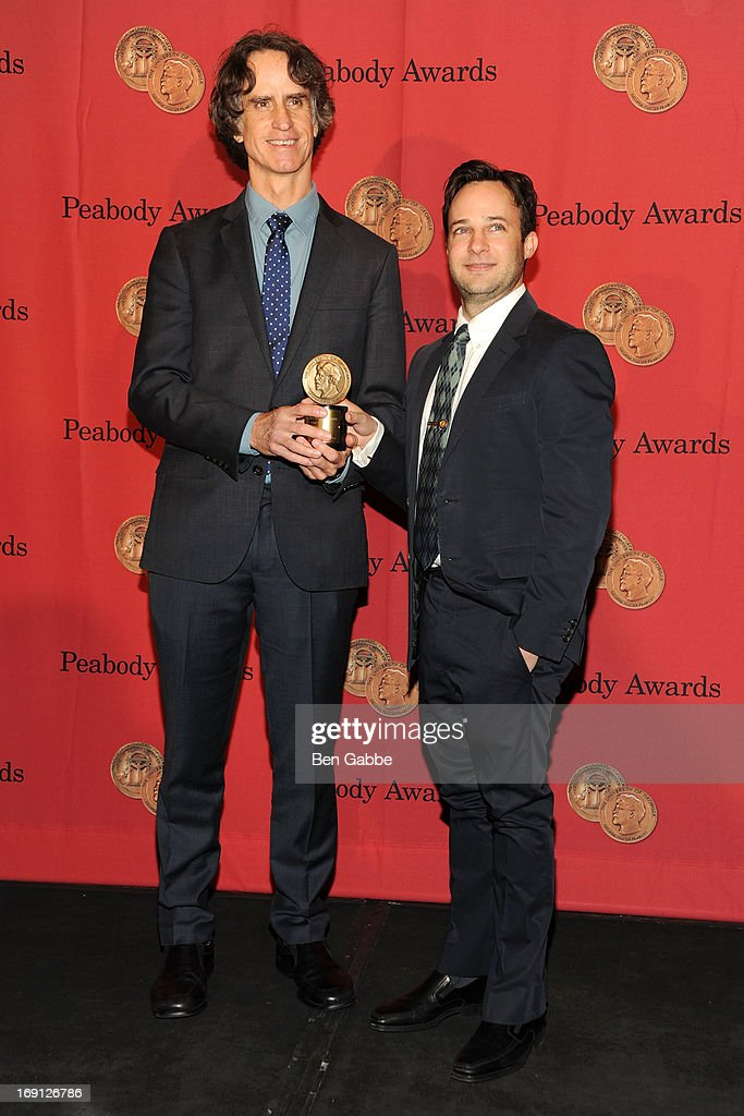 Director Jay Roach and writer Danny Strong attend 72nd Annual George Foster Peabody Awards at The Waldorf=Astoria on May 20, 2013 in New York City.