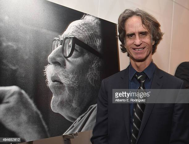 Director Jay Roach attends the after party for the premiere of Bleeker Street Media's 'Trumbo' at The Academy of Motion Picture Arts and Sciences on...
