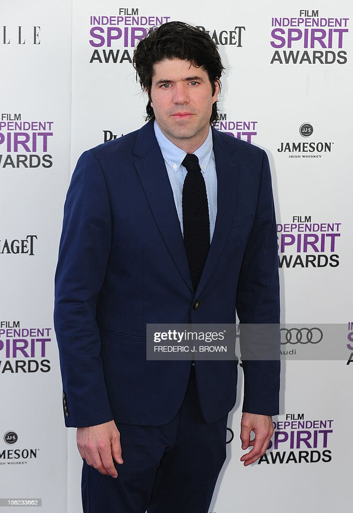 Director J.C. Chandor arrives on the red carpet on February 25, 2012 for the Independent Spirit Awards in Santa Monica, California.