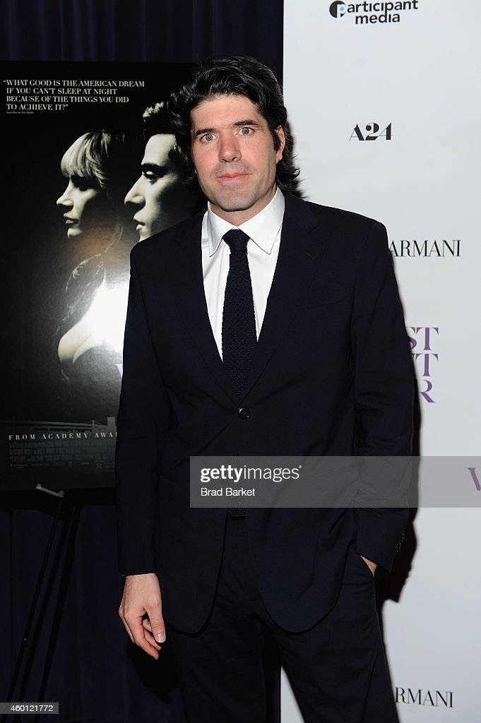 Director <a gi-track='captionPersonalityLinkClicked' href=/galleries/search?phrase=J.C.+Chandor&family=editorial&specificpeople=7452126 ng-click='$event.stopPropagation()'>J.C. Chandor</a> attends the New York premiere of 'A Most Violent Year' at Florence Gould Hall on December 7, 2014 in New York City.