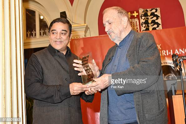 Prix Henri Langlois 2016 awarded director/actor Kamal Haasan attends ...