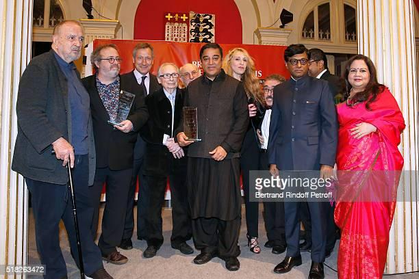 Director JeanClaude Carriere Laureate of the Price Henri Langlois Belgian Director Jaco van Dormael Belgium Ambassador to France Vincent Mertens de...
