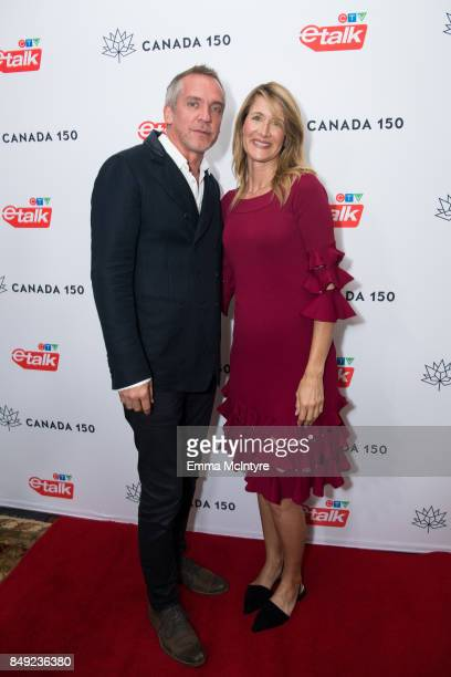 Director JeanMarc Vallee and actress Laura Dern attend the Canadian consulate's celebration for the Canadian Emmy Nominees at the Official Residence...