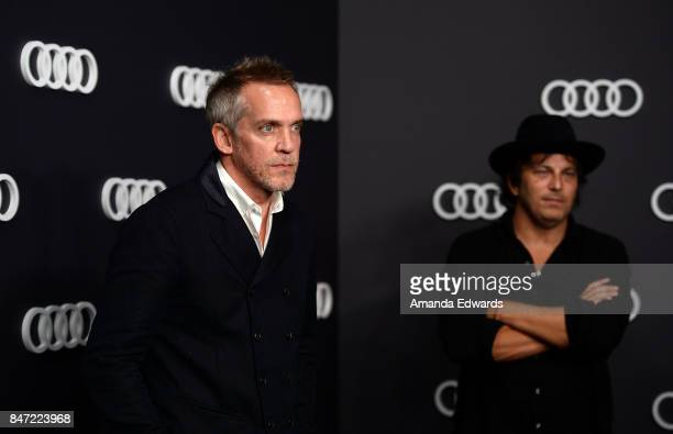 Director JeanMarc Vallee and producer Nathan Ross arrive at the Audi Celebrates The 69th Emmys party at The Highlight Room at the Dream Hollywood on...