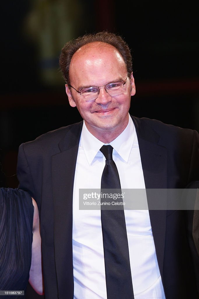 Director Jean-Pierre Ameris attends the 'L'Homme Qui Rit' Premiere during the 69th Venice Film Festival at the Palazzo del Cinema on September 8, 2012 in Venice, Italy.